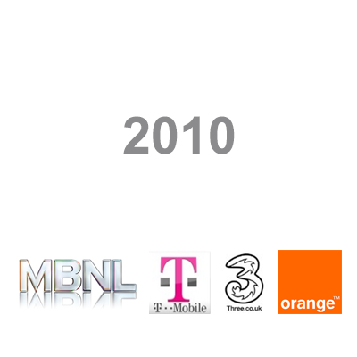 Following the earlier 2009 merger with T-Mobile, Orange joins MBNL network in 2010 under Everything Everywhere (now EE)  and new phase of integration begins