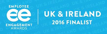 employee engagement awards - UK & Ireland 2016 finalist